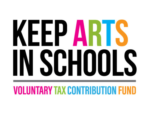 Working on your taxes? Donate to the #KeepArtsInSchools Fund